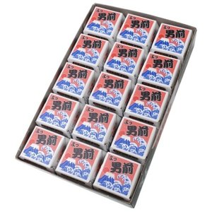 バレンタインチョコレート 義理チョコ グッズ ユニークシリーズ DECOチョコ 30個パック よっ男前 プチギフトの画像