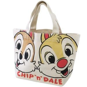 ランチバッグ マチ付き コットンバッグ チップ&デール アップ スモールプラネット ディズニー 30×20×9.5cm お弁当かばん キャラクターの商品画像|ナビ