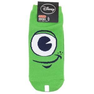 女性用靴下 モンスターズ・ユニバーシティ レディースソックス マイク アップ ディズニー Disney スモールプラネット|cinemacollection