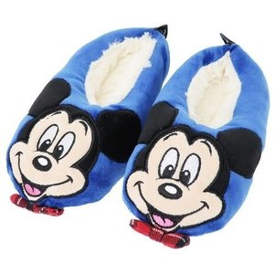 「サンダル・靴」 ミッキーマウス ディズニー グッズ ジュニア ボア ルームシューズ 子供用 防寒 ...