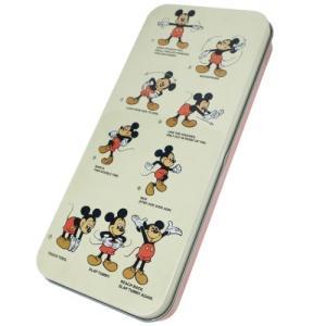 「缶ペンケース」 ミッキーマウス 缶ペンケース キャラ カンペン 体操 ディズニー スモールプラネッ...