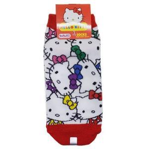 「メール便可」「靴下:レディース」 ハローキティ 女性用靴下 レディースソックス カラフル サンリオ...
