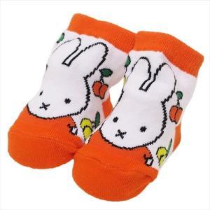 「靴下:ベビー」 ミッフィー 新生児はじめての靴下 さくらんぼ ディックブルーナ ベビーソックス 絵...