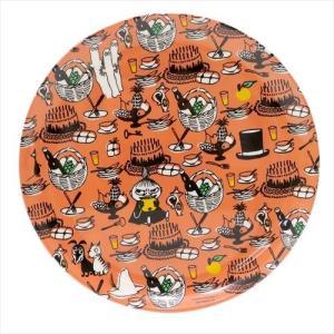 ムーミン 中皿 メラミンプレート りんご 北欧 スモールプラネット 新生活準備 キッズ食器 キャラク...