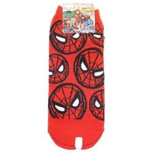 スパイダーマン 女性用靴下 レディースソックス アイコン/RD マーベル アメコミ キャラクター グッズ|cinemacollection