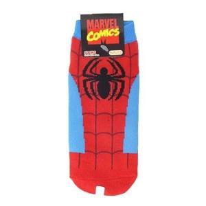 スパイダーマン レディースソックス 女性用靴下 コスチューム BL×RD マーベル キャラックス cinemacollection