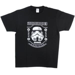 スターウォーズ STAR WARS グッズ Tシャツ T-SHIRTS ストームトルーパー スモールプラネット|cinemacollection