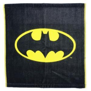 ウォッシュタオル BATMAN ハンドタオル DCコミック グッズ バットマン ロゴ cinemacollection