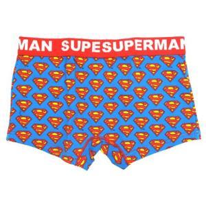 スーパーマン グッズ アイコン メンズボクサーパンツ|cinemacollection