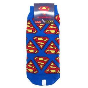 レディース靴下 スーパーマン シールド キャラックス マーベル ソックス スモールプラネット キャラクター|cinemacollection