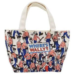 ウォーリーを探せ ランチバッグ マチ付きコットンバッグ 探せ キャラクター グッズ スモールプラネッ...