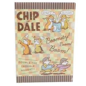 ドナルド&チップ&デール ファイル A4 シングル クリアファイル 2119641 ディズニー サンスター文具 雑貨|cinemacollection