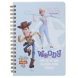 B6 Wリング ノート トイストーリー 4 リングノート ディズニー 3D サンスター文具 新学期準備雑貨 かわいい グッズ|cinemacollection