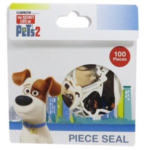 Pets2 ペット2 100ピース シール ユニバーサル映画 フレーク シール グッズ サンスター文...