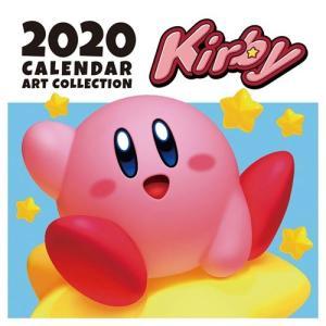 星のカービィ 壁掛け カレンダー 2020年 nintendo 令和2年暦 ゲーム キャラクター トライエックス 60×30cm|cinemacollection