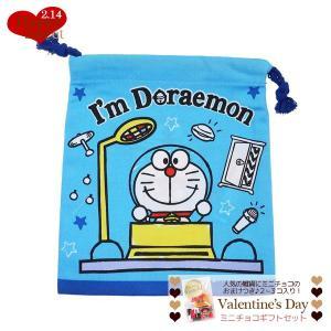 バレンタイン チョコセット ドラえもん 巾着袋 きんちゃくポーチ  サンリオ ミニ チョコレート お...