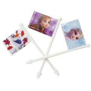 アナと雪の女王2 ディズニー グッズ キャラ弁 雑貨 フラッグ ピックス 9本セット ヤクセル|cinemacollection