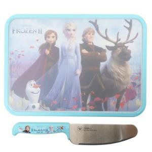 アナと雪の女王2 ディズニー キャラクター お料理セット 調理用品 2点セット プレゼント こども安全包丁&こどもミニまな板|cinemacollection