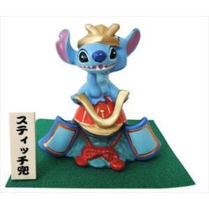 兜飾り スティッチ 五月人形 ディズニー Disney  吉徳 端午の節句 子供の日 キャラクター|cinemacollection