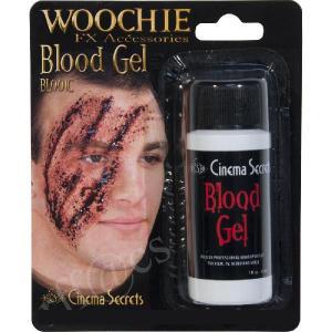1oz 血糊の特殊メイク WOOCHIE Blood Gel (血のりドス黒いタイプ) BL001C | 血,ドス黒い,凝固血,血痕,怪我,傷,ドラキュラ,特殊メイク,ホラーメイク,ハロウィン|cinemasecrets