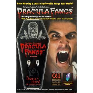 ドラキュラの牙(銀) Dracula House DRACULA FANGS Silver FCC223|牙,キバ,八重歯,吸血鬼,ヴァンパイア,ドラキュラ,バンパイア,トワイライト,ビジュアル系|cinemasecrets