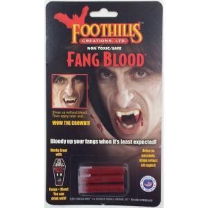 ドラキュラの口から滴る血… 血糊 Dracula House FANG BLOOD FCC302|牙,キバ,八重歯,吸血鬼,ヴァンパイア,ドラキュラ,バンパイア,トワイライト,ビジュアル系|cinemasecrets