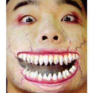 口裂け女… WO307|口裂け,切り裂け,切り傷,大口,出っ歯,お化け,死体,血みどろ,ウォーキングデッド|cinemasecrets