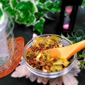 身体温め ハーブティー オーガニック ブレンド 60g 冷え症改善|cinnamonleaf