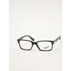 Persol 【ペルソール】  オプティカル(眼鏡)  スクエア  PO3004V 52/18  BLACK(ブラック)|cinqessentiel