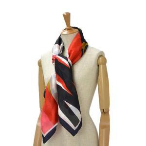 Pierre Louis Mascia【ピエールルイマシア】ダブルフェイスストール 28580 silk cotton RED/NAVY(レッド/ネイビー)|cinqessentiel