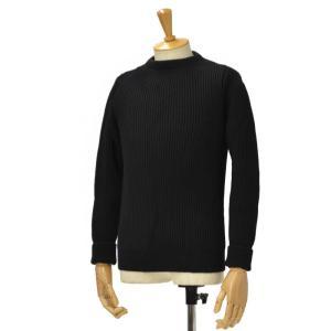 ANDERSEN-ANDERSEN【アンデルセンアンデルセン】クルーネックニット AD-002 CREW NECK wool BLACK(ブラック) cinqessentiel