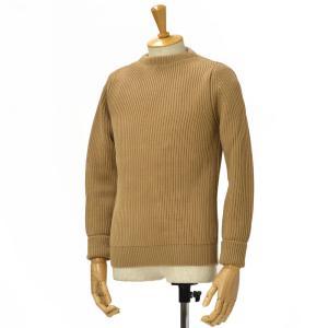 ANDERSEN-ANDERSEN【アンデルセンアンデルセン】クルーネックニット AD-002 CREW NECK wool CAMEL(キャメル) cinqessentiel