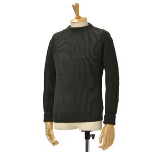 ANDERSEN-ANDERSEN【アンデルセンアンデルセン】クルーネックニット AD-002 CREW NECK wool H.GREEN(グリーン) cinqessentiel