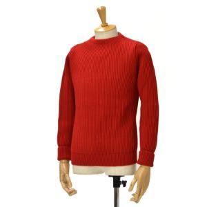ANDERSEN-ANDERSEN【アンデルセンアンデルセン】クルーネックニット AD-002 CREW NECK wool RED(レッド) cinqessentiel
