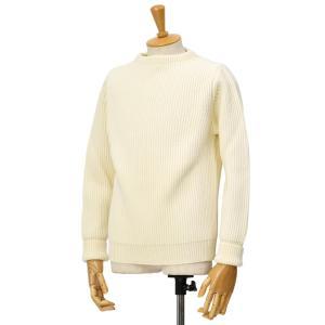 ANDERSEN-ANDERSEN【アンデルセンアンデルセン】クルーネックニット AD-002 CREW NECK wool OFF WHITE(オフホワイト) cinqessentiel