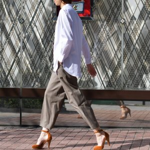 Bagutta【バグッタ】バンドカラーシャツ G_LERA CN0672 001 コットン ナイロン ホワイト|cinqessentiel|09
