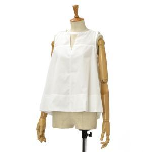 BARBA【バルバ】ノースリーブシャツ PE1712G121401 コットン ホワイト|cinqessentiel