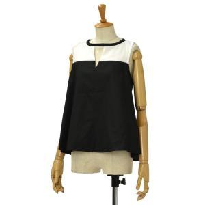 BARBA【バルバ】ノースリーブシャツ PE1712G121603 コットン ブラックホワイト|cinqessentiel