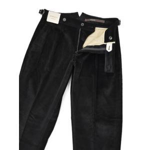 BERWICH【ベルウィッチ】ツープリーツパンツ SCOTCH DV1350X BLACK コーデュロイ ブラック|cinqessentiel|03