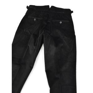 BERWICH【ベルウィッチ】ツープリーツパンツ SCOTCH DV1350X BLACK コーデュロイ ブラック|cinqessentiel|04