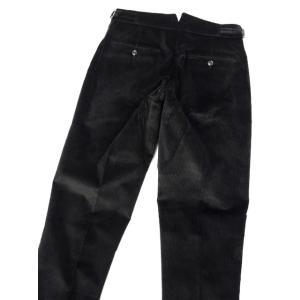 BERWICH【ベルウィッチ】ツープリーツパンツ SCOTCH DV1350X BLACK コーデュロイ ブラック cinqessentiel 04