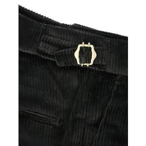 BERWICH【ベルウィッチ】ツープリーツパンツ SCOTCH DV1350X BLACK コーデュロイ ブラック cinqessentiel 05
