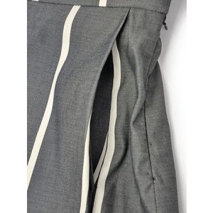 Borelio【ボレリオ】ストライプスカート ZOE 002 コットン ブラック ホワイト|cinqessentiel|03