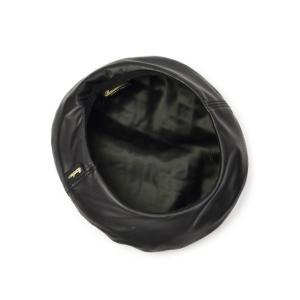 Borsalino【ボルサリーノ】キルティングベレー帽 B80032 TA0017 697A ポリエステル ブラック cinqessentiel 04