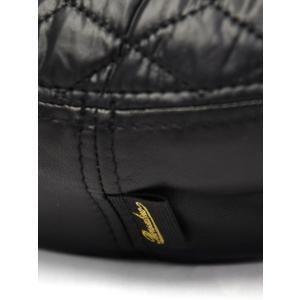 Borsalino【ボルサリーノ】キルティングベレー帽 B80032 TA0017 697A ポリエステル ブラック cinqessentiel 05