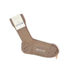 BRESCIANI【ブレッシアーニ】ソックス靴下 WQ0B2UN0008 916 CUIVRE ナイロン ポリエステル ブラウン|cinqessentiel
