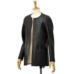 CINQUANTA【チンクアンタ】ノーカラー4ポケットジャケット i651 1011 999 NERO ブラック cinqessentiel