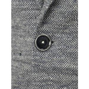 CIRCOLO 1901【チルコロ】リネンジャージーシングルジャケット 8CU194045 018 ブルー|cinqessentiel|03