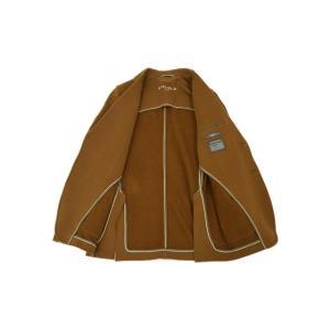 CIRCOLO 1901【チルコロ】ジャージージャケット カシミヤタッチ 9CU2000001 227 コットン テラコッタ|cinqessentiel|07
