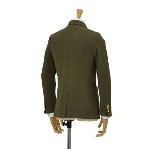 CIRCOLO 1901【チルコロ】ダブルジャージージャケット カシミヤタッチ 9CU2004MB 234 コットン オリーブ|cinqessentiel|06